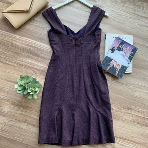 Rebecca Taylor Dresses - Rebecca Taylor Dark Purple Sleeveless Dress